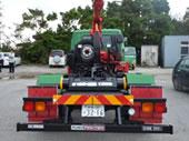 三菱ふそう 4tコンテナ牽引車(2,550kg)